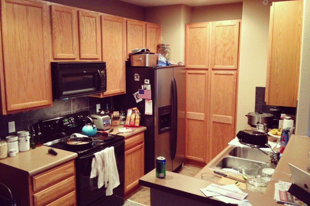 Bachelor Cooking Kitchen