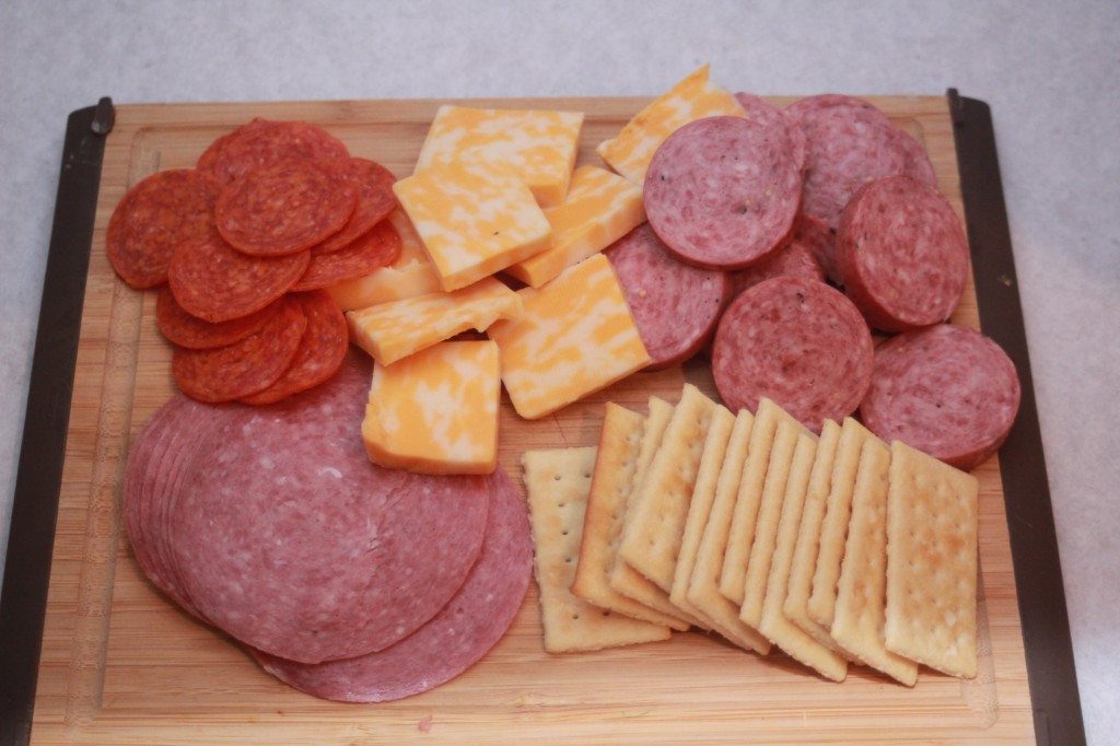 Meats & Cheese with Crackers