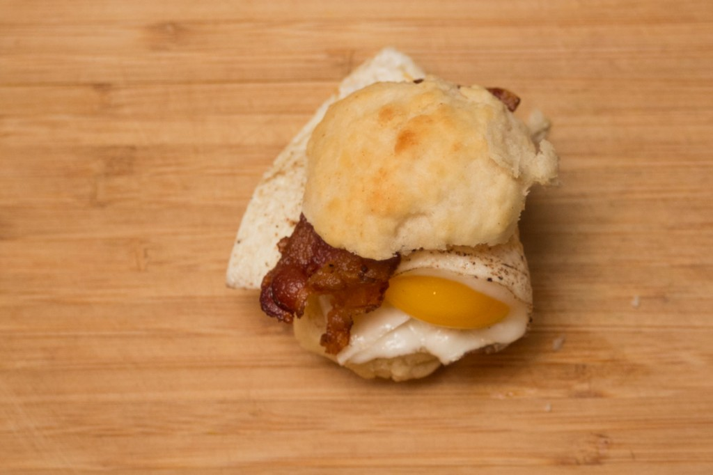 Egg-Bacon-Biscuit